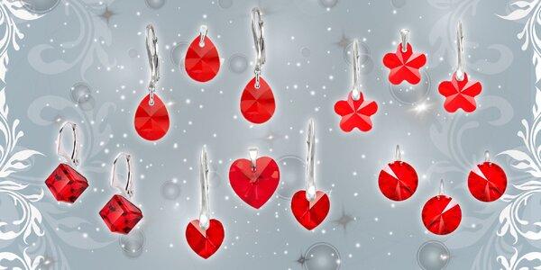 Strieborné šperky s kryštálmi Swarovski® - urobte jej radosť na Valentína!