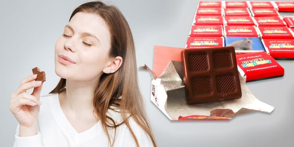 Čokoládové pexeso z vlastných fotografií