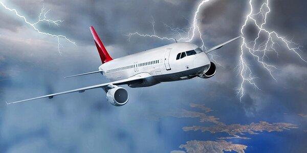 Napínavá únikovka v kokpite lietadla