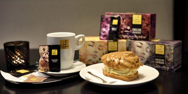 Káva alebo čaj s koláčikom v Business Garden
