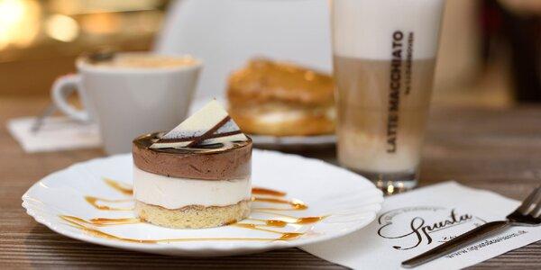 Zákusok a káva pre všetkých milovníkov sladkého