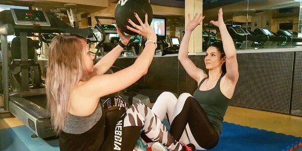 5x tréning s osobným trénerom pre 2 osoby so vstupom do fitka