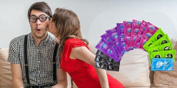Balíčky DUREX, PASANTE, VITALIS, EXS kondómov