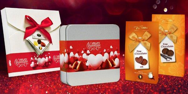 Belgické čokoládové pralinky alebo hľuzovky