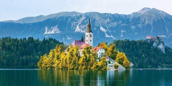 Jarné a jesenné farby Slovinska