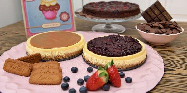 Cheesecake či Brownies torta? Nech sa páči!