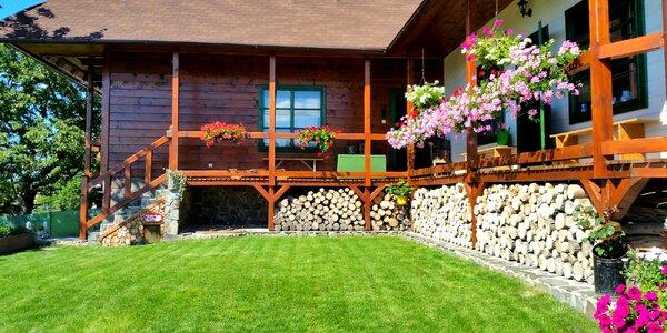 Štýlovo zariadená chata v Detvianskej Hute