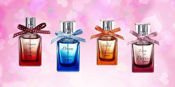 Dámske parfémy City Ardor s vôňou sveta