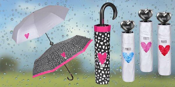 Dámsky skladací dáždnik značky Perletti
