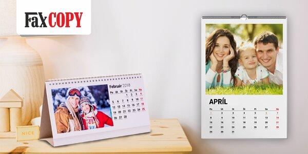 Fotokalendár z vlastných fotografií - spomienky na každý deň