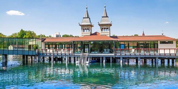 Pobyt na brehu najväčšieho termálneho jazera s wellness a polpenziou