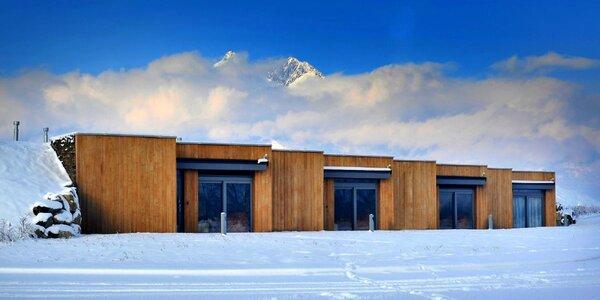 Zima a jar v nových apartmánoch pod Tatrami