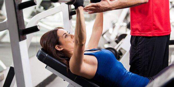Individuálny osobný tréning a vstup do fitness centra
