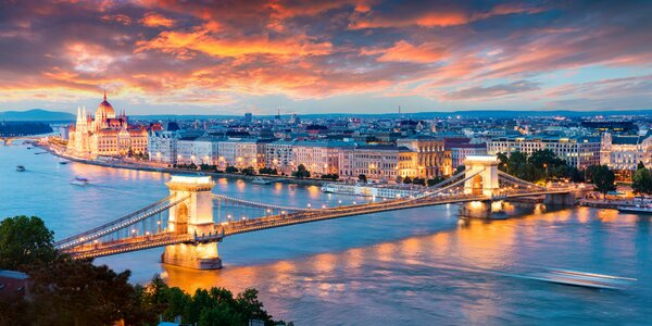 Elegantný a moderný pobyt v centre Budapešti!