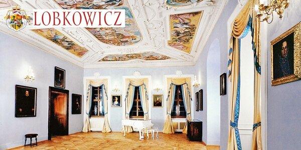 2 vstupenky do úchvatného Lobkowiczkého paláca
