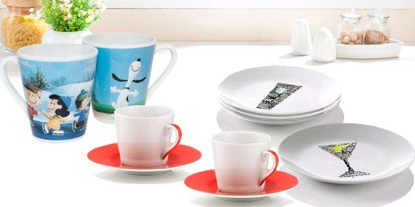 To najlepšie z kredenca: Poháre, taniere i hrnčeky