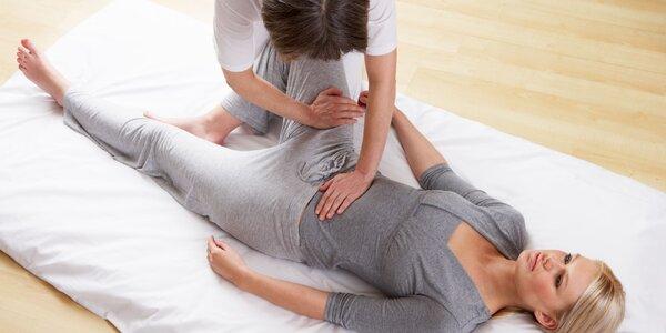 Japonská liečebno-relaxačná masáž SHIATSU