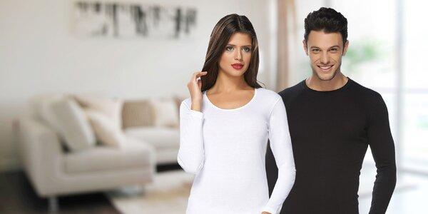 Pánske a dámske nátelníky zo 100 % bavlny
