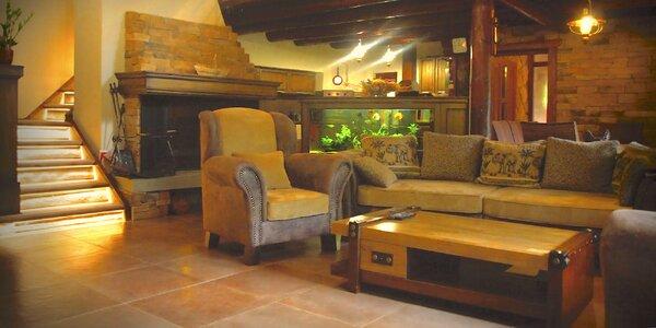 Komfortné ubytovanie v Kolibe pri Sklených Tepliciach