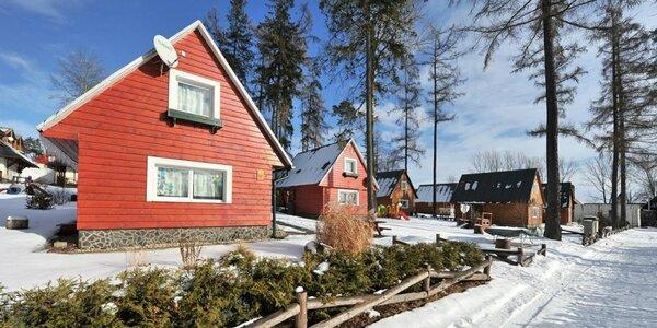 Apartmány, chatky a domčeky pre 2 - 6 osôb vo Vysokých Tatrách so saunou