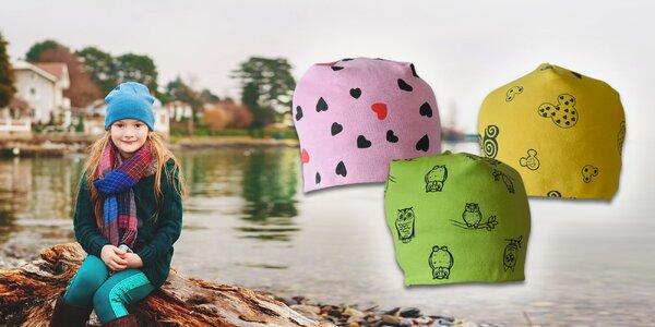 Detská čiapka - aby ušká neomrzli!