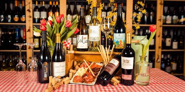Degustácia 3 až 7 druhov vín v Primitivo