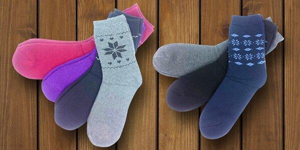 3 páry termo ponožiek pre pánov i dámy