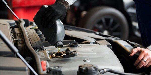Výmena oleja v Autoservis - G&B Corporation