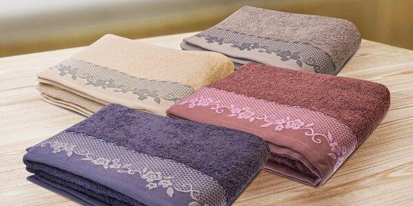 Mäkké bavlnené uteráky a osušky BJORK