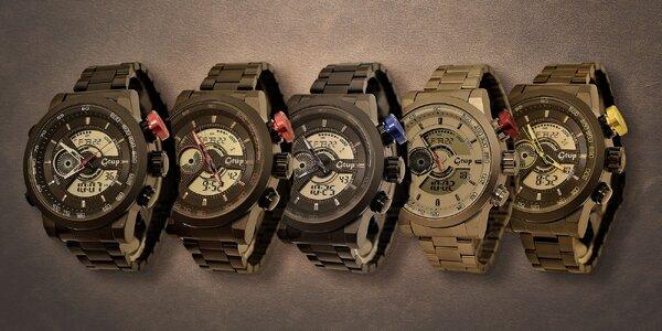 Designové pánske hodinky Gtup 1020