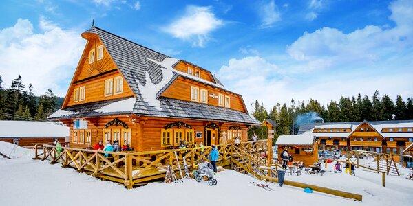 Jarný Ski a Wellness pobyt v krásnom oravskom Hruštíne