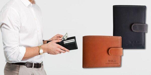 Pánska elegantná peňaženka WILD
