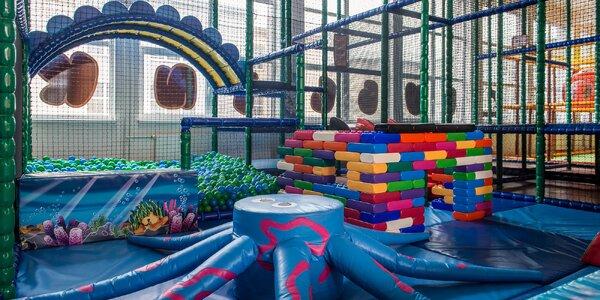 Vstup do detského indoorového ihriska Bublinka