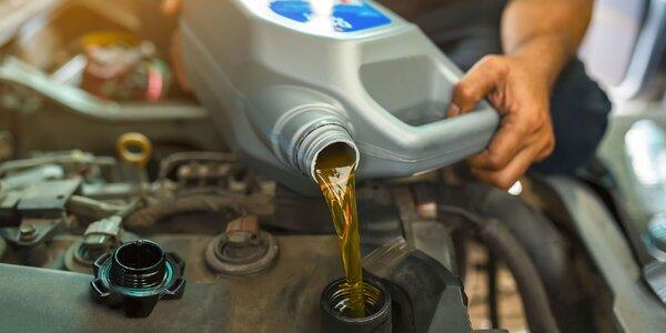 Výmena oleja a olejového filtra a 3D geometria kolies