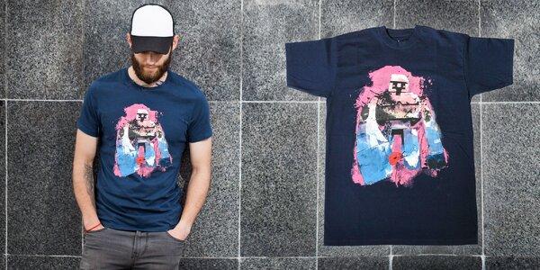 Pánske bavlnené tričko Minecraft GOLEM