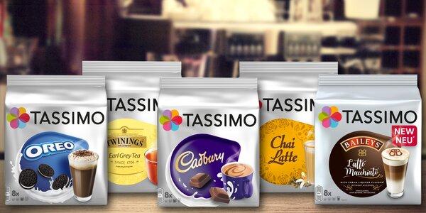 Kapsle Tassimo: 5 fantastických príchutí