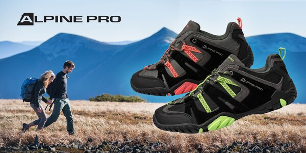 Pánska a dámska outdoorová obuv Alpine Pro