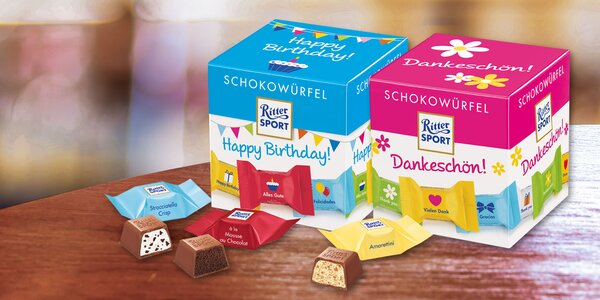 Čokoládky Ritter Sport