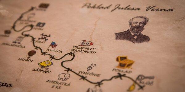 Poklad Julesa Verna – detská úniková hra!
