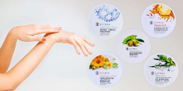 Ošetrujúce krémy a balzamy na ruky ESTREA