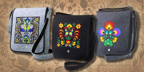 Dámska EKO crossbody taška s peknými motívmi!