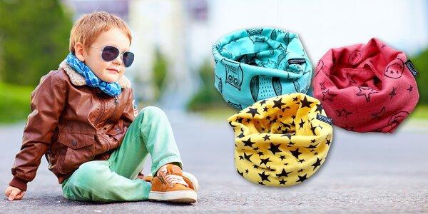 Detské bavlnené nákrčníky