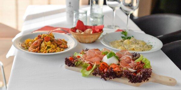4-chodové talianske degustačné menu aj pre dvoch