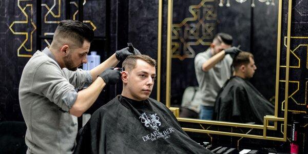 Klasický pánsky strih v Gold Barber Shope