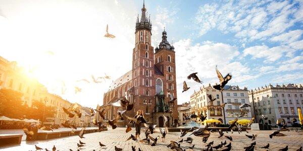 Pobyt pre 4 osoby až na 4 dni v Krakove