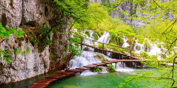 3-dňový poznávací zájazd: Plitvické jazerá a Zagreb
