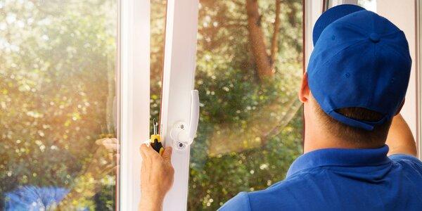 Základný servis alebo výmena tesnení okien