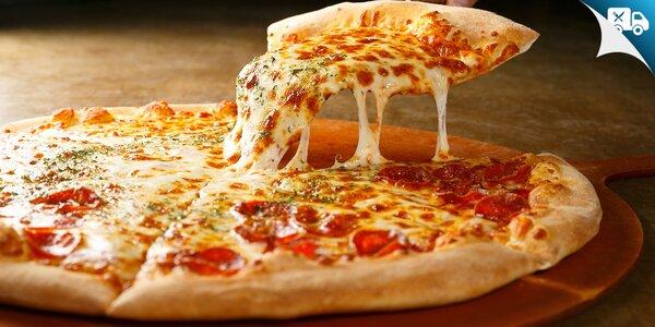 Pizza podľa vlastného výberu aj s dovozom