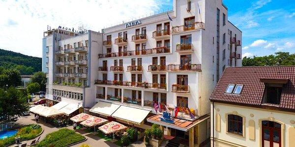 Liečebný pobyt v kúpeľnom Hoteli Jalta & Dependances