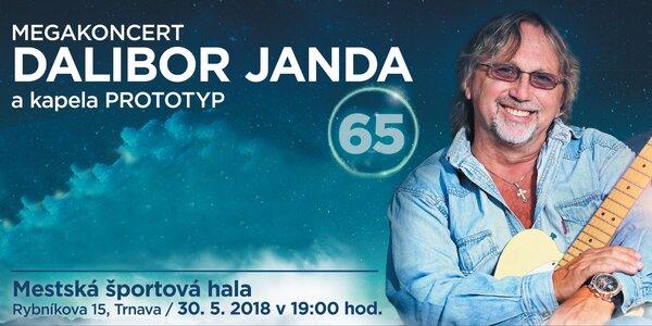 Koncert Dalibora Jandu so skupinou Prototyp